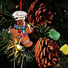 Gingerbread Man & Gumdrops by Glenna Walker