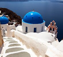 Iconic Santorini by Paul Thompson Photography