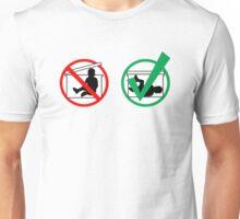 Plastic Infant Storage Unisex T-Shirt