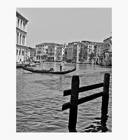 Gondola Ride Photographic Print