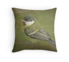 It's a big wide world out there! Throw Pillow