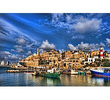 The old port, Jaffa Photographic Print