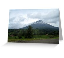 Drive-by Volcano Greeting Card