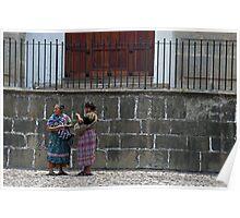 Mayan Women. Poster