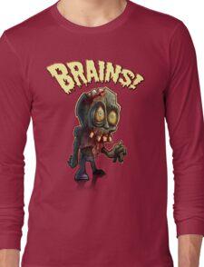 Retro Zombie Long Sleeve T-Shirt