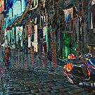 The Essence of Croatia - Artsy Motorbike in Rovinj by Igor Shrayer