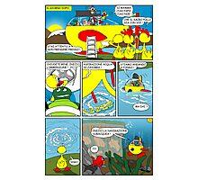 """Rick the chick  """"THE MAGIC SHELL (La partenza) parte 32"""" Photographic Print"""