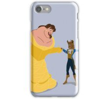Beasty and the Beaut iPhone Case/Skin