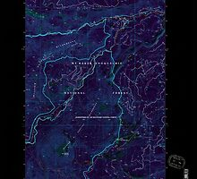 USGS Topo Map Washington State WA Old Scab Mtn 242931 1992 24000 Inverted by wetdryvac