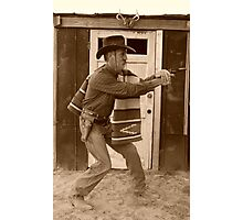 The 999th fastest gun in the west Photographic Print