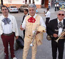 Mariachis - the older generation - la generacion mas vieja by Bernhard Matejka