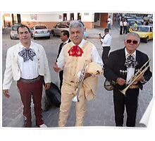 Mariachis - the older generation - la generacion mas vieja Poster