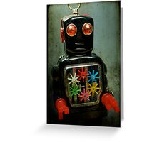 Robot1 Greeting Card