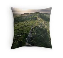 Hardrians Wall Throw Pillow