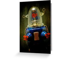 Robot2 Greeting Card