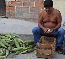 Corn - the holy plant for the Mexican people - Maiz - la planta sacrada para los Mexicanos by Bernhard Matejka