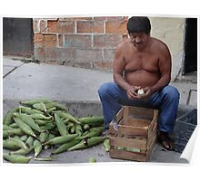 Corn - the holy plant for the Mexican people - Maiz - la planta sacrada para los Mexicanos Poster