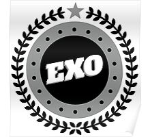 EXO LOGO Badge - Black Poster