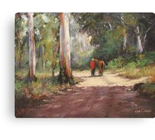 Forest Walk Canvas Print