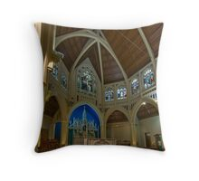 St Mary of the Angels 2 Throw Pillow