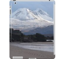 Torridon mountains from Big Sand iPad Case/Skin