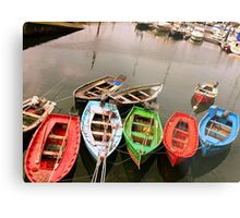 Colours in the Harbour Metal Print