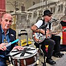 Market Buskers by V1mage