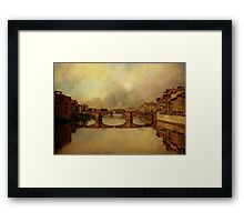 Once Upon A Time In Florence Framed Print
