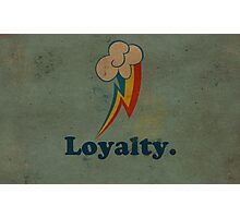 Worn Loyalty Photographic Print