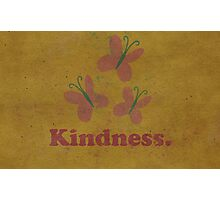 Worn Kindness Photographic Print