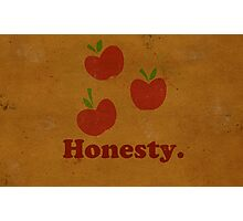 Worn Honesty Photographic Print