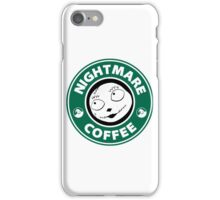 Nightmare Before Coffee - Sally iPhone Case/Skin