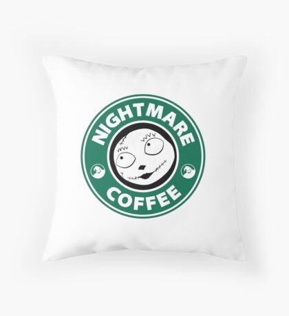 Nightmare Before Coffee - Sally Throw Pillow