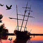 Jordan Shipwreck by Ticker