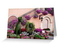 Epcot's Flower & Garden Festival Greeting Card