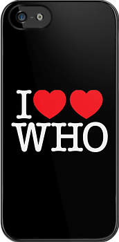 I ♥♥ WHO (dark) by glyphobet