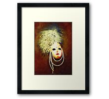 Gothic Mask 7 Framed Print