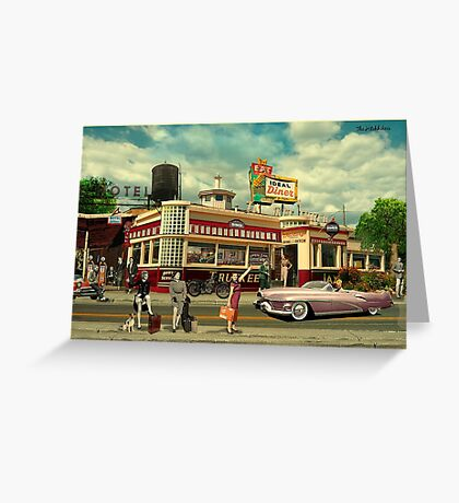 The Hitchhikers Greeting Card