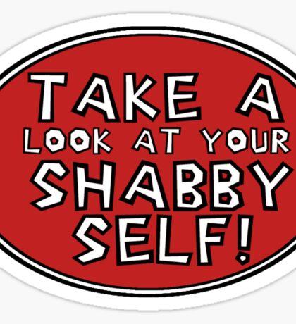 Shabby Self Sticker