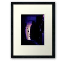 Darth Vader's Shadow  Framed Print