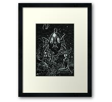 See Monkeys Framed Print