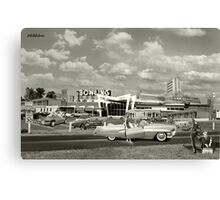 Hitchhikers Canvas Print