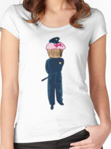 CopCake Women's Fitted Scoop T-Shirt