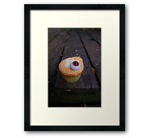 EYE LOVE CUPCAKES Framed Print