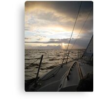 Storm Off the Starboard Bow Canvas Print