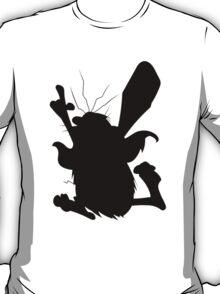 Captain Caveman Silhouette T-Shirt