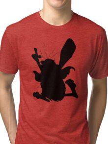 Captain Caveman Silhouette Tri-blend T-Shirt