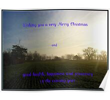 Essex in Winter - Christmas and New Year Card Poster