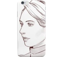 Elizabeth Holmes of Theranos iPhone Case/Skin