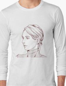 Elizabeth Holmes of Theranos Long Sleeve T-Shirt